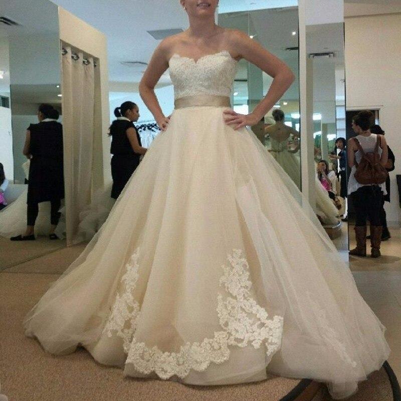 Romantic wedding dress vestido de noiva 2017 new elegant for Romantic wedding dress designers