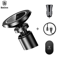 Baseus Wireless Charger For IPhone X 8 Samsung S7 S8 Note8 Car Mount Qi Wireless Charging