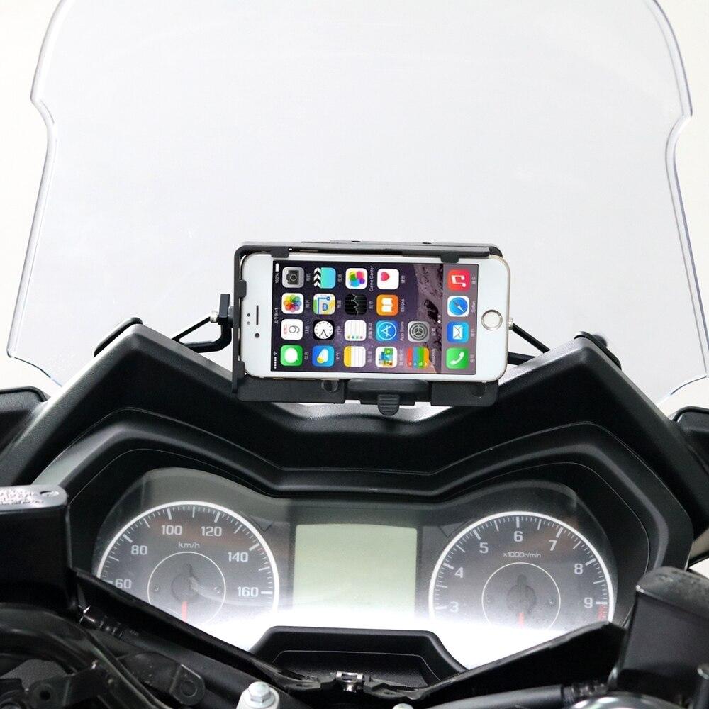 Moto USB chargeur Mobile support pour téléphone support support pour Yamaha XMAX125 250 XMAX300 400 2017 2018
