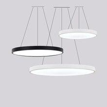 Светодиодный железо акрил круглый простой многоцветный подвесной светильник Lampen Lustre подвесной светильник s. Подвесной светильник. Подвесной светильник для фойе