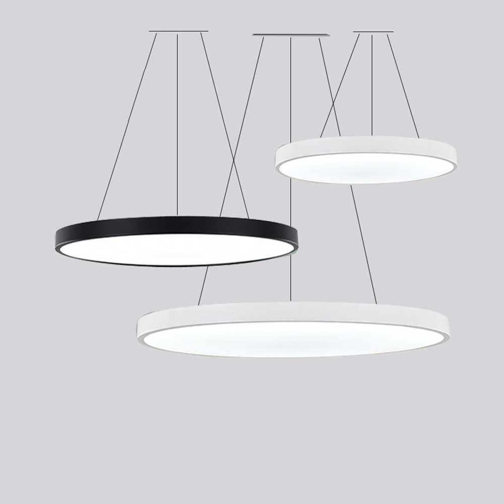 LED Iron Acryl Round Simple Multicolor Suspension Luminaire Lampen Lustre Pendant Lights.Pendant Lamp.Pendant Light For Foyer