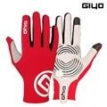 Giyo Wind Brechen Radfahren Vollfinger Handschuhe Touchscreen rutschfeste Fahrrad Lycra Stoff Handschuhe Bicicleta Rennrad Langes handschuh-in Fahrradhandschuhe aus Sport und Unterhaltung bei