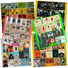Harry Potter 20/pcs PVC Series Stickers Classic Creative Design collection Gift High quality Printing waterproof Sunscreen(China)