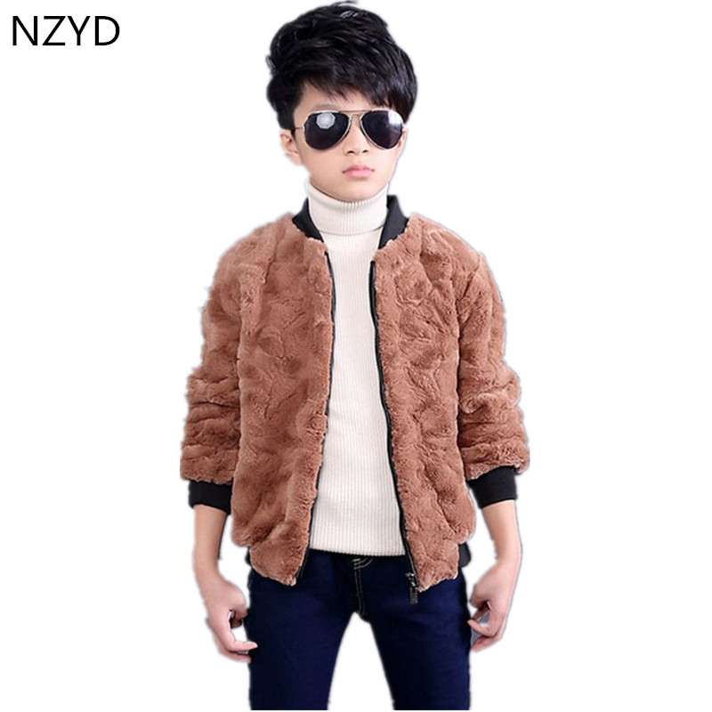 2017 New Fashion Winter Boy Coat Thick Warm Kids Cotton-Padded Clothes Pure Color Casual Children Jacket Clothing 2-7Years DC513 цены онлайн