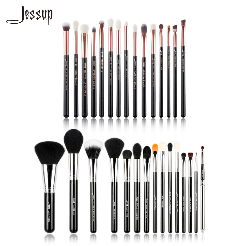 Jessup Brushes Professional Makeup Brushes Set Cosmetic Make up brush Powder Foundation Eyeshadow Eyeliner Lip Brush Shader rancai 12pcs makeup brushes set powder foundation blusher lip eyeliner eyelash eyeshadow eyebrow brush
