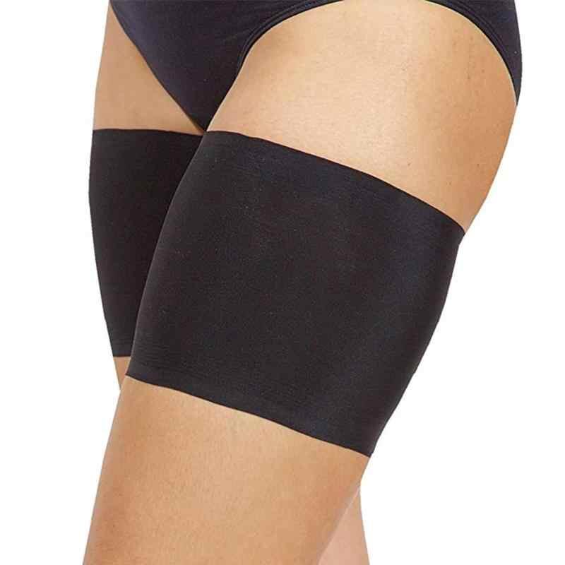 Nowy ocieplacz na nogi cienkie szczuplejsze pasek kobiety wysokie elastyczne Anti-poślizg otarcia ochrony uda zespoły ocieplacz na nogi s kobiety Beenwarmers skarpety