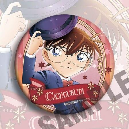 19pcs Detective Conan Badges Set 18th Anniversary Dimensional Snipe Pins Broochs