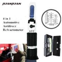 תיבה הקמעונאי אופטי 4 in 1 הקפאה ריכוז refractometer של אוריאה עם ATC עבור יצרני רכב צי גדול 48% הנחה-במד החזר אור מתוך כלים באתר