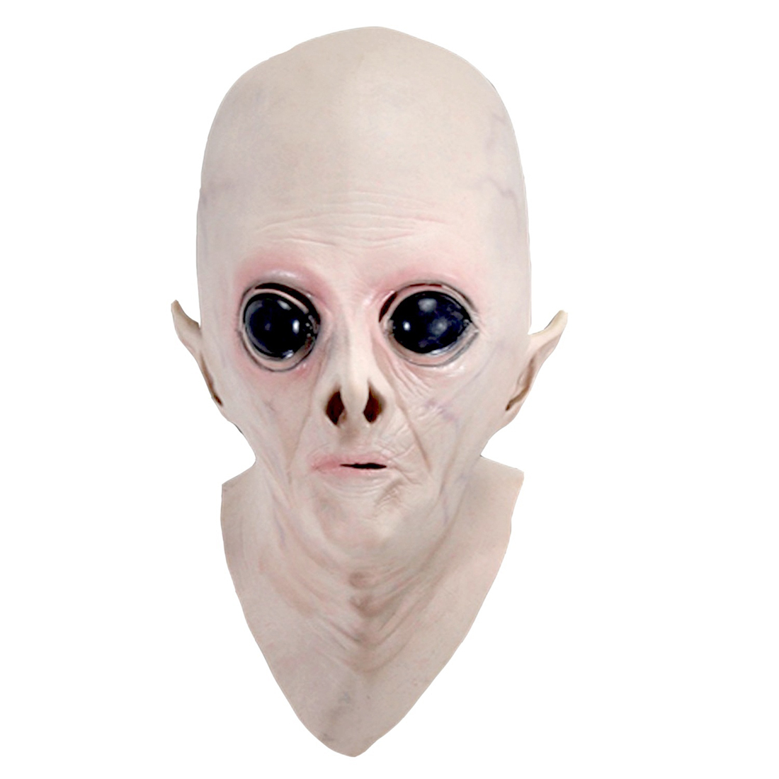 ABWE Best Sale Halloween Creepy Latex UFO Alien Head Mask