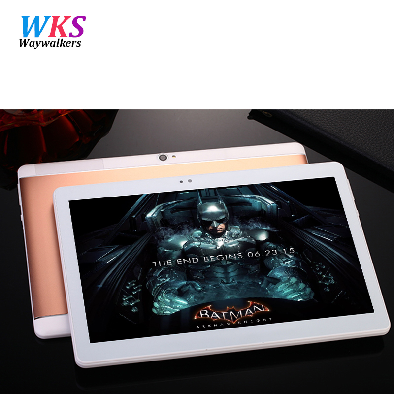 Newest waywalkers M9 10 1 inch tablet pc octa core 4GB RAM 64GB ROM 5MP IPS