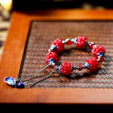 Ruifan Chinese Style Natural Stone Jade 925 Sterling Silver Bracelet Women Vintage Cloisonne Ceramic Bracelets Jewelry YBR123 free shipping 8 chinese tibet silver cloisonne mosaic natural flower exquisite bracelet 5 24