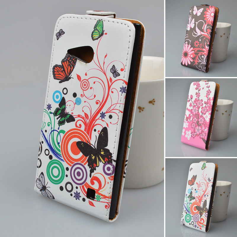 sale retailer d996c ccc69 US $4.99  Printing Leather Case For Nokia Lumia 730 Flip Cover for Nokia  730 Phone Bag 5 Colors in Stock-in Flip Cases from Cellphones & ...