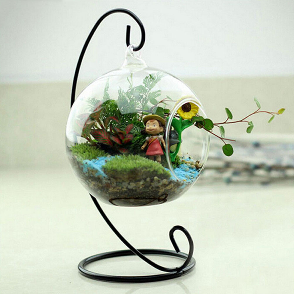 Stand, Plant, White, Hanging, Planter, Decoration