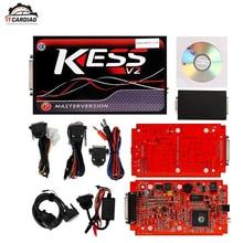 ЕС красный pcb KTAG V7.020 KESS V2 V5.017 без базовых ограничений блока управления двигателем Титан мастер версия ECU инструментов программирования Автомобильный/трактор/велосипед V4.036