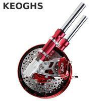 Keoghs Moto Avant Amortisseur Et Double Double Système De Frein Pour Yamaha Scooter Rsz Jog Force Bws Cygnus Ttx Modifier