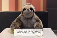 Plush toys children Three toed sloth simulation doll toy gift