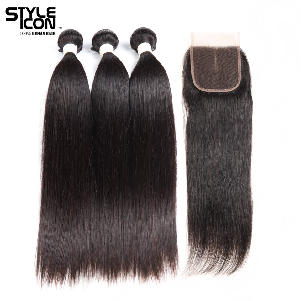 style icon hair extensions reviews styleicon buy 3 bundles get 1 closure free indian human 3603