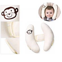цена на Baby Kid Head Neck White Support BC-A18 Baby Seat Pillow Adjustable Child Neck Care Polyester Accessories Children Kids Care