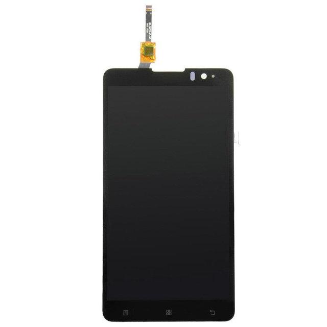 Display lcd de alta qualidade tela sensível ao toque para lenovo s8 s898t 5.3 polegadas touch panel digitalizador substituição mtk6592 octa núcleo celular