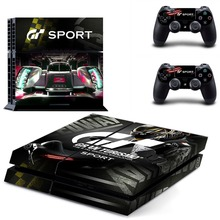 Gran Turismo Sport GT Sport PS4 Skin Sticker Decal Vinyl for Sony Playstation 4 Console and 2 Controllers PS4 Skin Sticker