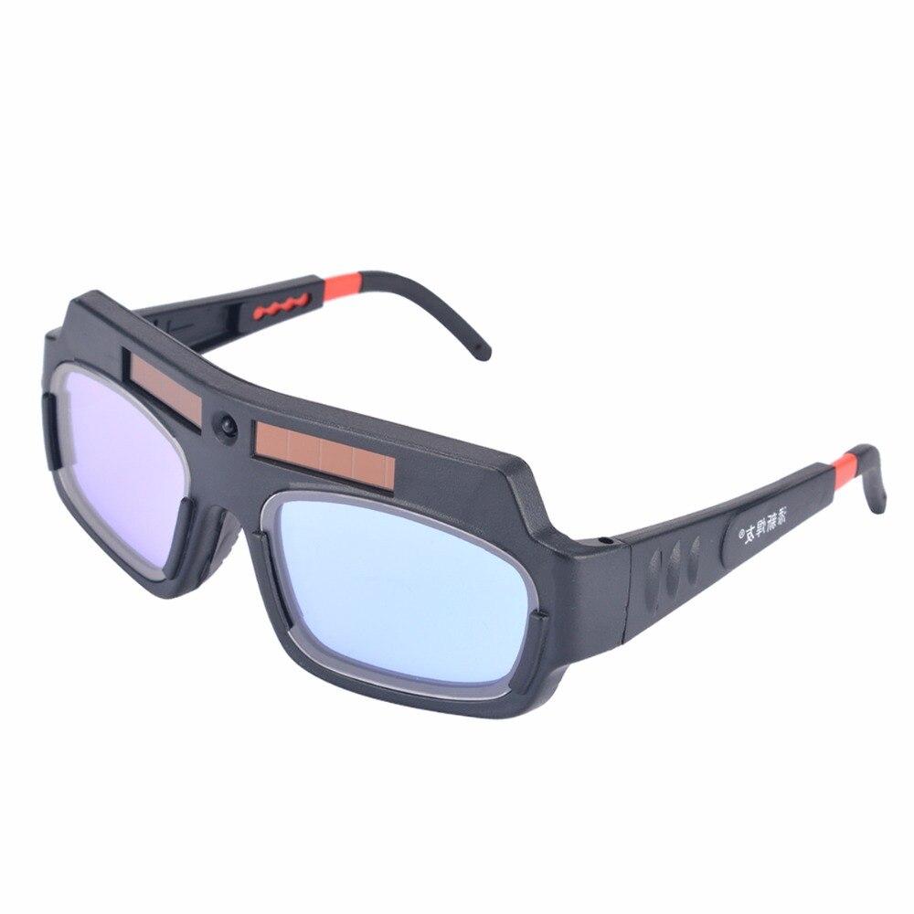 e57e7733ca Máscara de Soldadura Auto oscurecimiento con energía Solar casco Goggle  Mayitr soldador de gafas Arc PC lente para la protección de soldadura