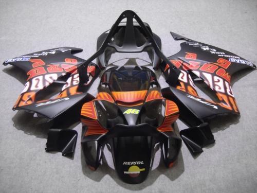 Motorcycle Fairing Kit For Honda Vfr800 98 99 00 01 Vfr 800 1998 1999 2000 2001 Orange Matte