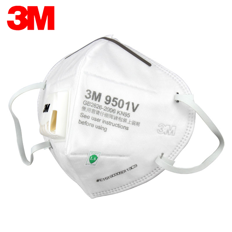 Filter Kn95 Electrostatic 9501v 3m Riding H012910 Protective Anti-haze Anti-particles Material Masks Mask Anti-dust