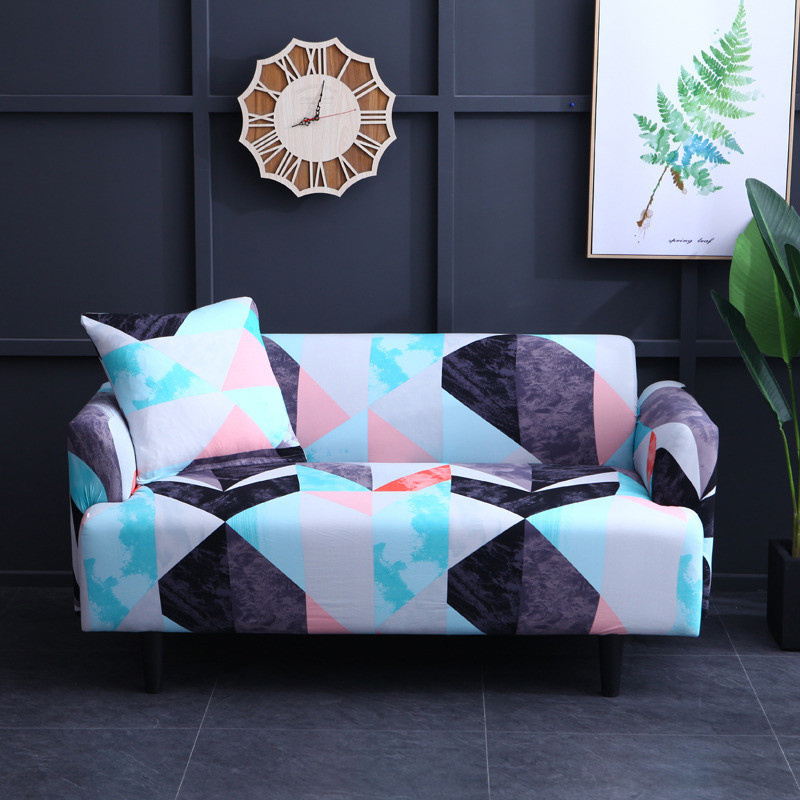 Sofa Cover Set Elastic Couch Cover Sofa Covers for Living Room Pets cubre sofa L shape Chair Cover Pillow Case 1/2/3/4 Seater wallet
