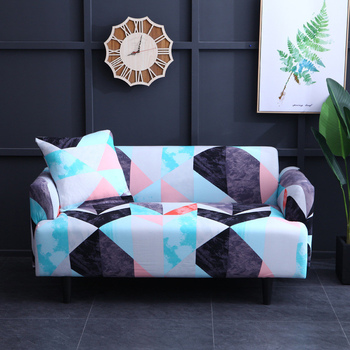 Sofa Cover Set Elastic Couch Cover Sofa Covers for Living Room Pets cubre sofa L shape Chair Cover Pillow Case 1/2/3/4 Seater