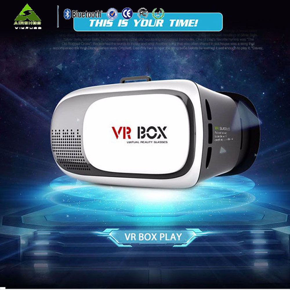 Enhanced Version <font><b>VR</b></font> Virtual Reality Headset 3D <font><b>Video</b></font> <font><b>Movie</b></font> <font><b>Game</b></font> <font><b>Glasses</b></font> For Smartphones <font><b>Adjustable</b></font> Focal Distance Pupil Distance