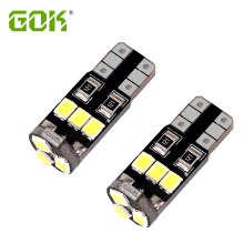 Super Bright 50 X T10 W5W led canbus 194 168 2835 LED t10 9SMD Canbus 12V Car Auto Bulbs Indicator Light Parking Lamp