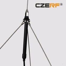 1/4 Wave GP1 Antenne Met 15 Meter Kabel Connector Tnc Voor 5 W, 7 W, 15 W, 25 W, 50 W Fm zender