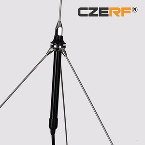 1/4 wave GP1 antenna with 15 meters cable Connector TNC for 5w,7w,15w,25w,50w fm transmitter(China)