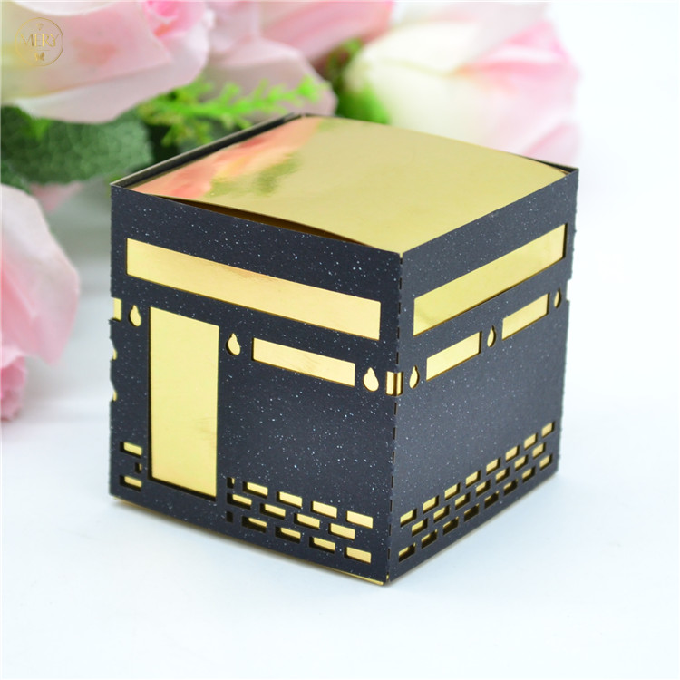 Mubarak pilgrimage laser cut kaaba favour boxes-in Gift Bags & Wrapping Supplies from Home & Garden on AliExpress - 11.11_Double 11_Singles' Day 1