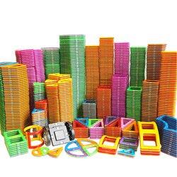 1 pcs tamanho Grande Ímã Magnético Blocos DIY tijolos de construção de brinquedos de construção de peças Designer modelo brinquedos Educativos magbrother