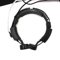 עבור שני הדרך גמיש גרון מיקרופון מיקרופון Covert אקוסטית Tube אפרכסת אוזניות עבור YAESU VX ורטקס-3R 5R FT50R 60R 210A שני הדרך רדיו (2)