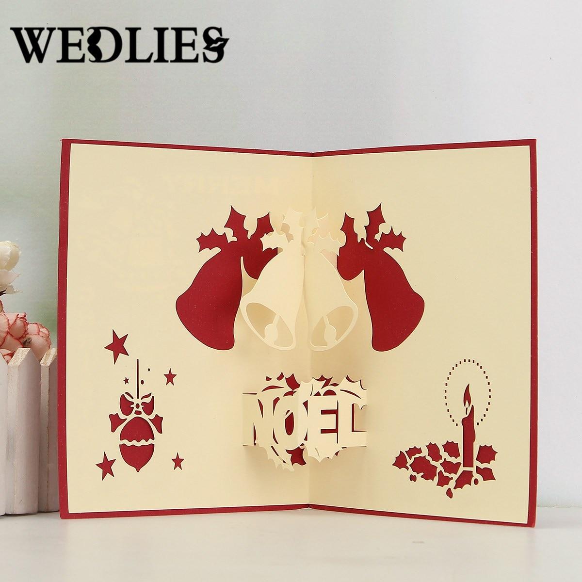 Online get cheap gift card designer for Christmas card 3d designs