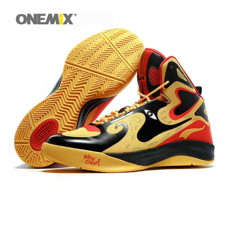290871acbaaf ... Onemix unique design men s basketball shoes original men s sneakers  athletic sport shoes outdoor male ankle shoes ...