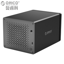 Фотография ORICO Tool Free Type-C to SATA 5-Bay USB 3.1 5Gbps Hard Drive Docking Station with 12V 6.5A Power Adapter Support UASP HDD Case