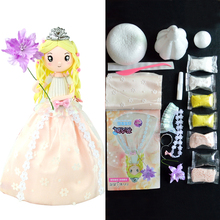 Fluffy Slime New Arrival Soft Clay Slime Toys Chinese Style Doll With Dress And Headwear Slime Supplies For Girl Birthday Gift