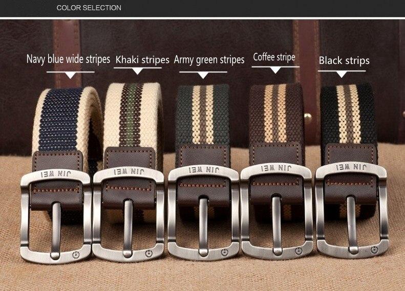 Военный ремень с пряжкой для спорта на открытом воздухе, тактический ремень для мужчин и женщин, высококачественные холщовые ремни для джинсов, мужские роскошные повседневные ремни