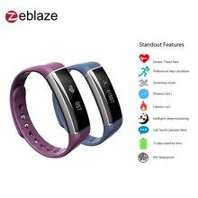 Новые zeblaze zeband плюс Смарт Браслет сердечного ритма трекер сна Мониторы Bluetooth Спорт Смарт-браслет для Мобильный телефон
