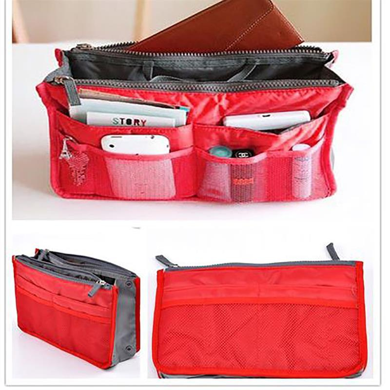 Cosmetic Bag Makeup Bag Travel Organizer Portable Beauty Pouch Functional Bag Toiletry Make Up Makeup Organizers Phone Bag Case 4