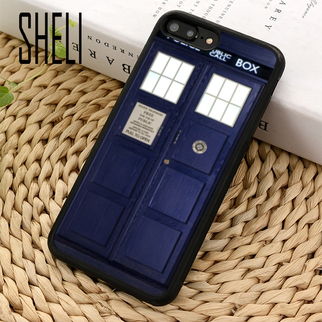 Fitted Cases Humorous Sheli Doctor Who Tardis Police Phone Case Cover For Iphone 6 6s 7 8 Plus X Xr Xs Maxs Se Samsung Galaxy S6 S7 Edge S8 S9 Plus Careful Calculation And Strict Budgeting