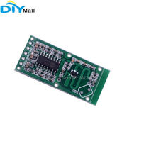 цена на RCWL-0516 Microwave Radar Sensor Switch Module Human Body Induction Motion Detector Board for Arduino