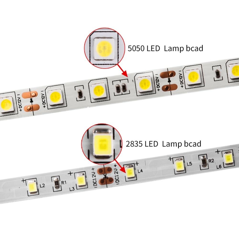 Image 3 - DC 12V LED Strip Light Flexible Diode Ribbon Tape RGB SMD 2835 5050 44Key Power Remote 5M 10M 15M Full Set Waterproof Lighting-in LED Strips from Lights & Lighting