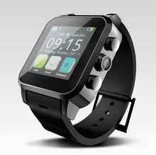 """3กรัมandroid smart watchโทรศัพท์mtk6572 cortex a7 dual core/1.54 """"t ouchแสดงสมาร์ทหุ่นยนต์โทรศัพท์นาฬิกาdhlฟรีการจัดส่งสินค้า"""