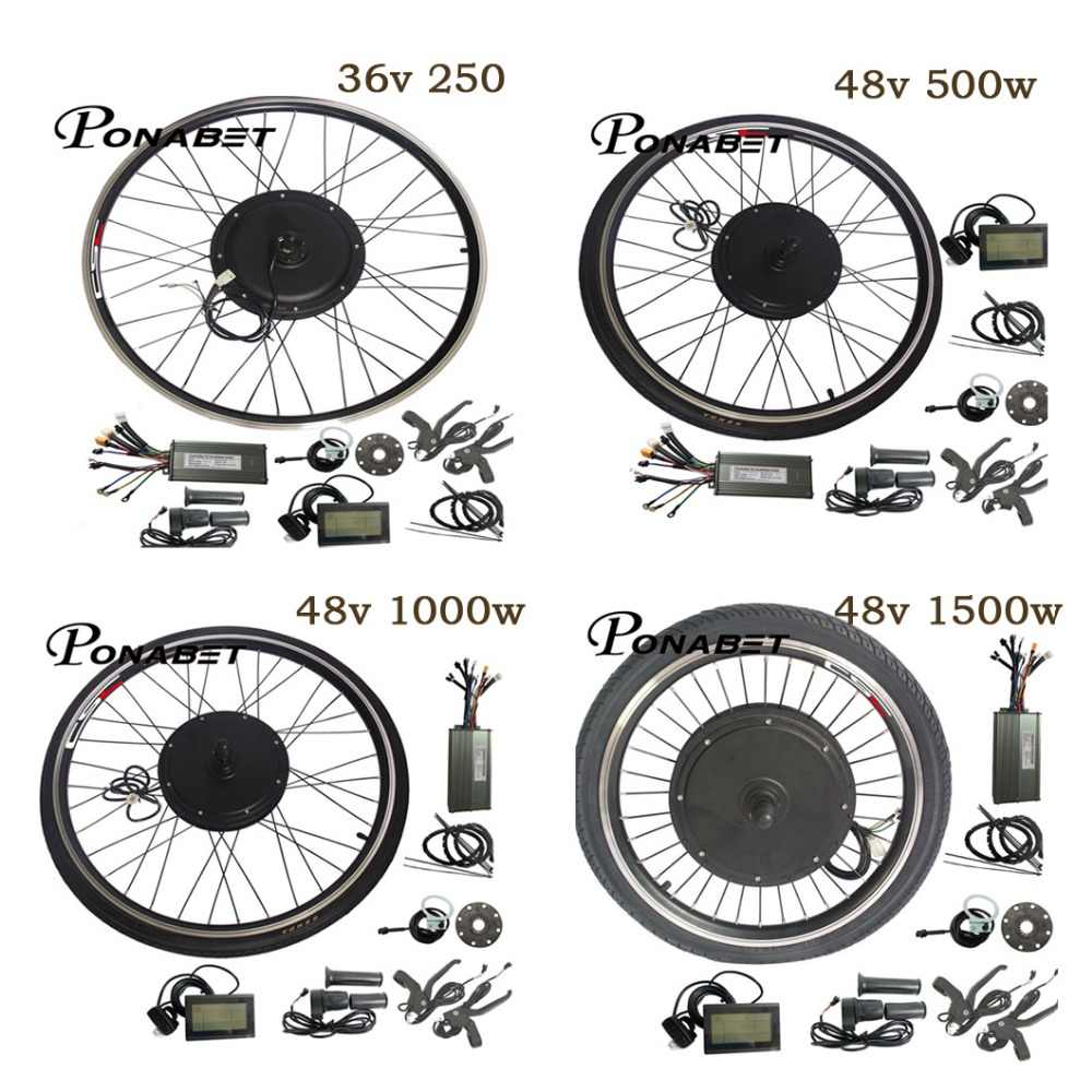 Detail Feedback Questions about 48V 1500W ebike kit Electric bike