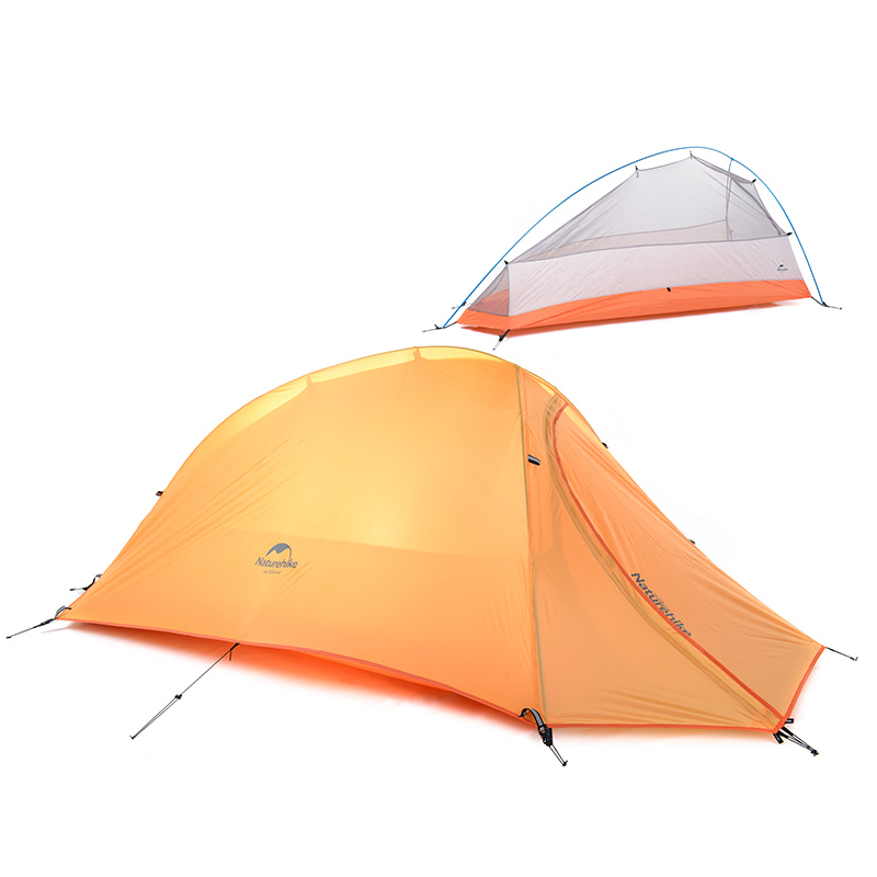 NatureHike 1 Person Tent Double layer C&ing Tent Lightweight 4 seasons Tent NH15T001 T-in Tents from Sports u0026 Entertainment on Aliexpress.com | Alibaba ...  sc 1 st  AliExpress.com & NatureHike 1 Person Tent Double layer Camping Tent Lightweight 4 ...