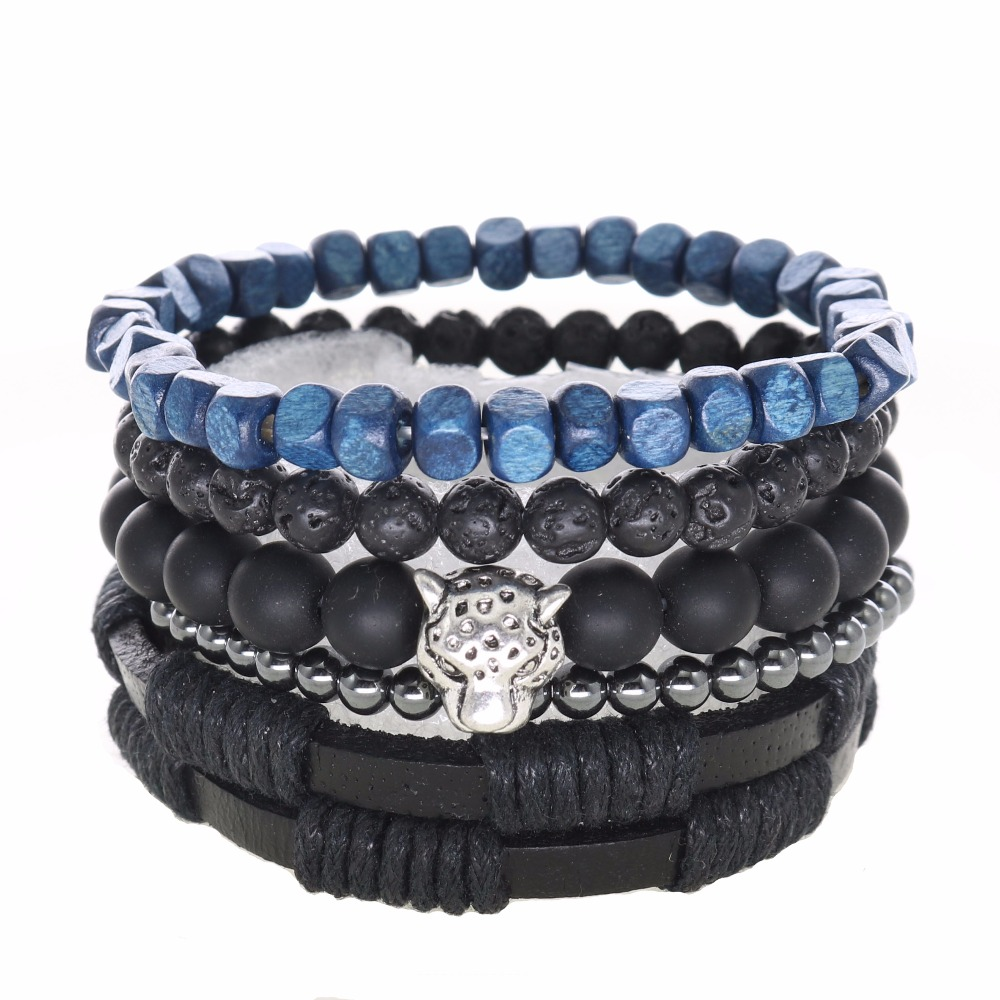 Leather Wrap Bracelet With Charms: Online Buy Wholesale Leather Beaded Wrap Bracelets From
